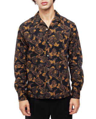 Norse Projects Carsten Paisley Black