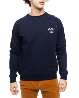 Norse Projects Ketel Ivy Wave Logo Dark Navy