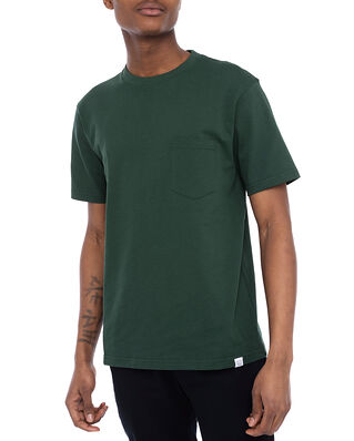 Norse Projects Johannes Pocket SS Darthmouth Green