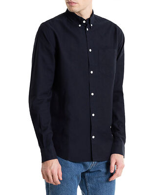 Norse Projects Anton Oxford Dark Navy