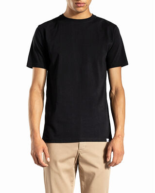 Norse Projects Niels Standard SS Black