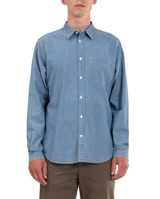 Norse Projects Osvald Chambray  Indigo