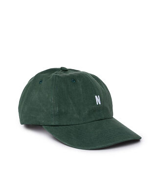 Norse Projects Twill Sports Cap Darthmouth Green
