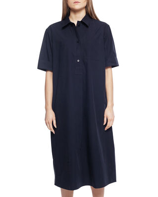 Norse Projects Valna Dress Heavy Poplin Dark Navy