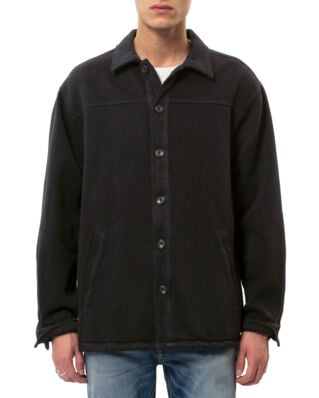 Nudie Jeans Elias Twill Overshirt Black