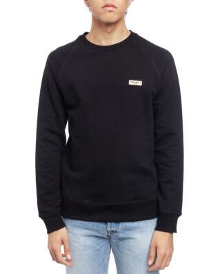 Nudie Jeans Samuel Logo Sweatshirt Black