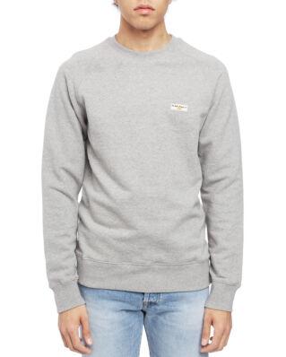 Nudie Jeans Samuel Logo Sweatshirt Greymelange