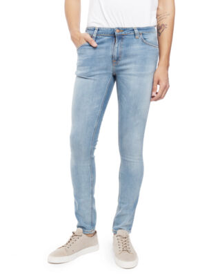 Nudie Jeans Skinny Lin Light Blue Pwr