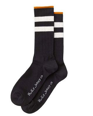 Nudie Jeans Amundsson Sport Socks Black/White