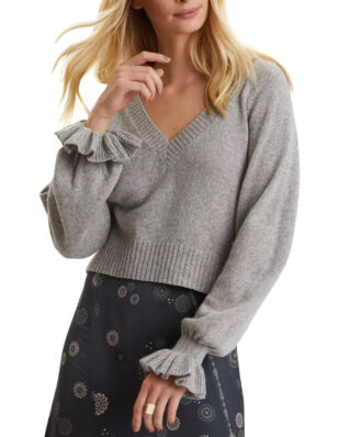 Odd Molly A Whole Lot Of Lovely Sweater Light Grey Melange