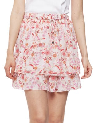 Odd Molly Blossom Skirt Light Chalk Multi