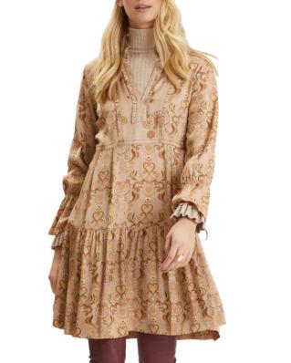 Odd Molly Brilliant & Brave Short Dress Light Taupe