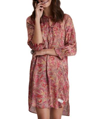 Odd Molly Deep Groove Garden Dress Hot Pink