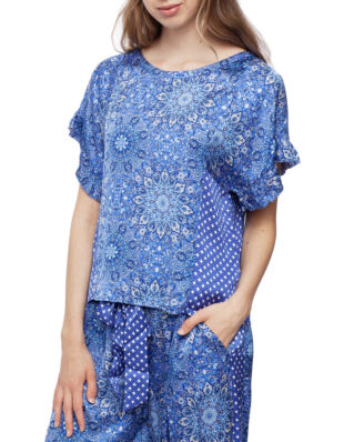 Odd Molly Empowher Blouse Sea Blue