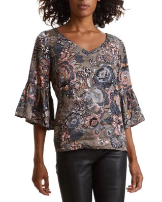 Odd Molly Extravaganca Blouse Walnut Brown