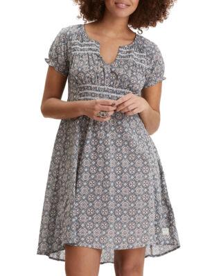Odd Molly Facile Flower Dress Misty Blue