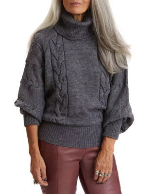 Odd Molly Good For Everything Turtleneck Boulder Grey