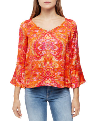 Odd Molly Head Turner Blouse Pumpkin Orange