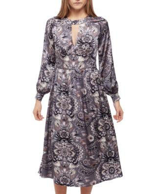 Odd Molly Head Turner Long Dress Asphalt