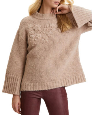 Odd Molly Life Coordinator Sweater Light Taupe