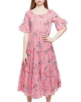 Odd Molly Lush Shake Dress Blush Pink