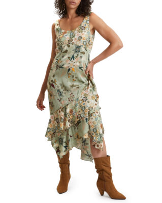 Odd Molly Molly-Hooked Dress Lichen Green