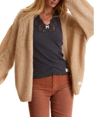 Odd Molly Novelty Cardigan Soft Camel