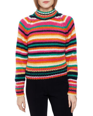 Odd Molly Novelty Stripe Sweater Multi