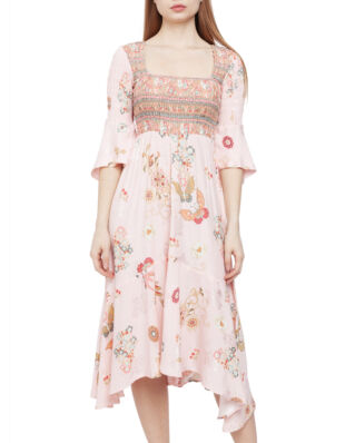 Odd Molly Paradise Groove Long Dress Orchid Pink