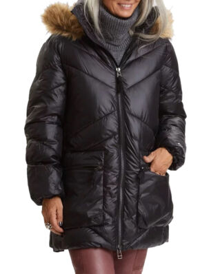Odd Molly Pretty Mountainous Parka Almost Black