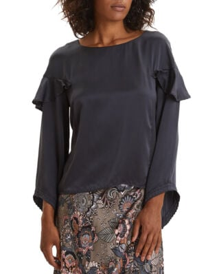 Odd Molly Shine With Confidence Blouse Midnight Black