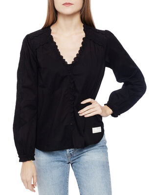 Odd Molly Sleeves Up Blouse Almost Black