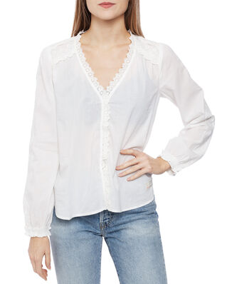 Odd Molly Sleeves Up Blouse Light Chalk