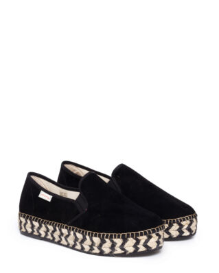 Odd Molly Stepper Espadrillo Black