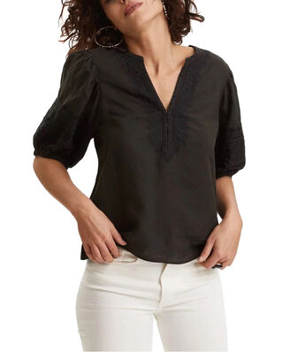 Odd Molly Dynamic Blouse Asphalt