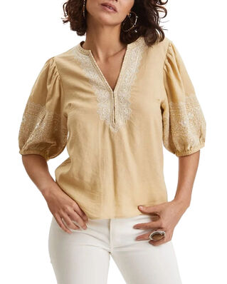 Odd Molly Dynamic Blouse Dune Beige
