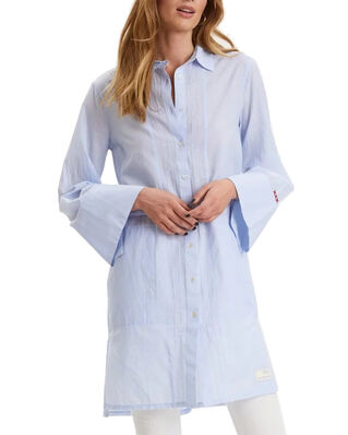 Odd Molly Electrifying Long Shirt Lucky Blue