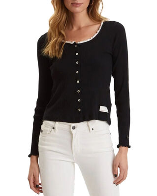 Odd Molly Grandma Top Almost Black