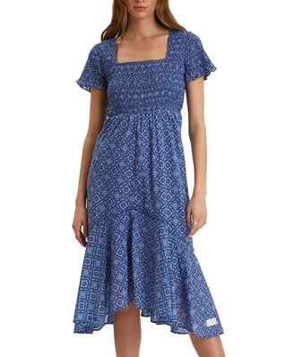 Odd Molly Perfect Print Dress Vivid Blue