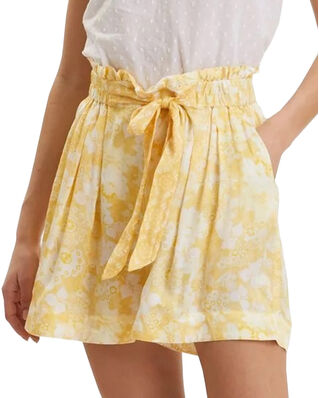 Odd Molly Pretty Printed Shorts Vintage Yellow