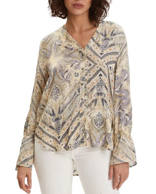Odd Molly Radiant Blouse Dune Beige