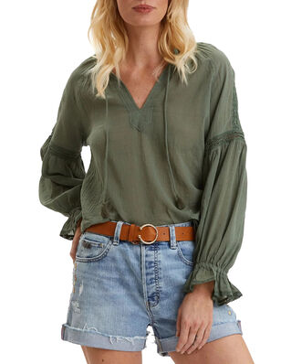 Odd Molly Way To Go Blouse Cargo Green