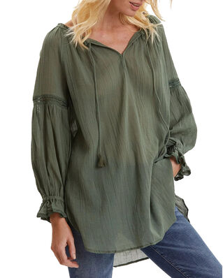 Odd Molly Way To Go Tunic Cargo Green