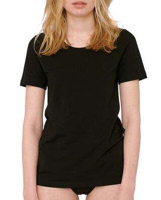 Organic Basics Organic Cotton Tee Black