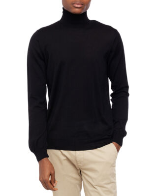 Oscar Jacobson Cole Rollneck Black