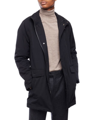Oscar Jacobson Danton Coat Black
