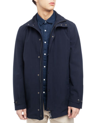 Oscar Jacobson Grayson Coat Dark Blue