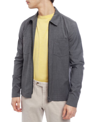 Oscar Jacobson Harding Shirt Jacket Grey