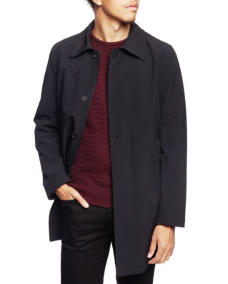 Oscar Jacobson Johnsson Coat Black