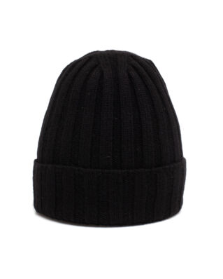 Oscar Jacobson Knitted Hat Black